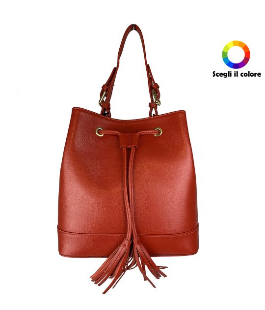 FG Bag Saffiano Red
