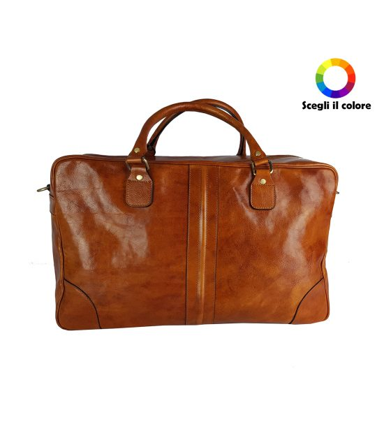 FG duffel bag man leather