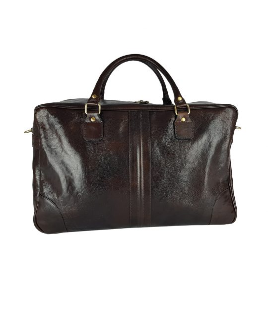 FG duffel bag man Dark Brown