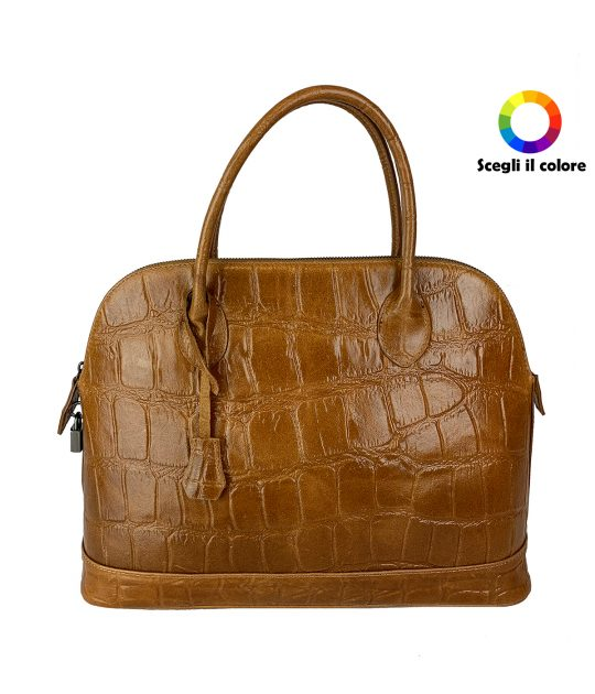 FG Martina Bag Crocodile Leather