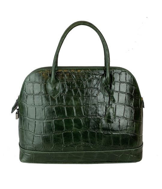 FG Martina Bag Crocodile Green