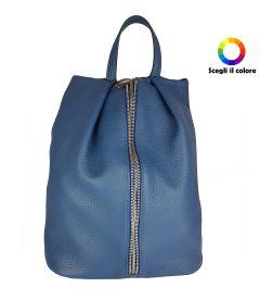 FG Zainetto Zip Blu
