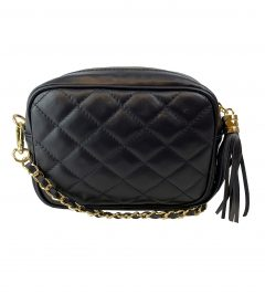 FG Clutch Quilted dark blue