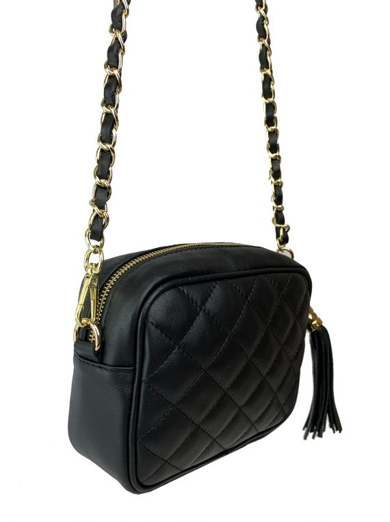 FG Clutch Quilted Black