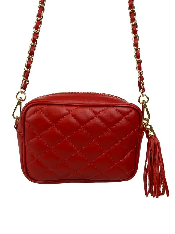 FG Clutch Quilted Red