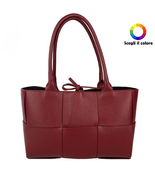 FG Bag Intertwined Bordeaux